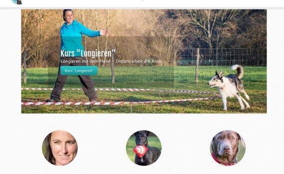 Webseite Champion Coaching - Hundetraining by Melanie Champion